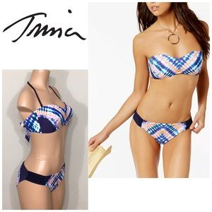 Trina Turk Moonlight Tie Dye bikini. NWT
